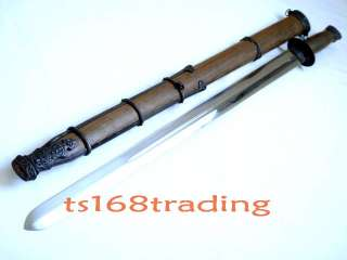 Excellent Chinese Qi jian sword high carbon steel sharp