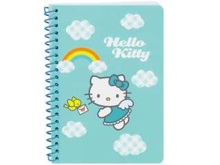 Hello Kitty Angel Mini Spiral Notebook   35 Lined Sheets