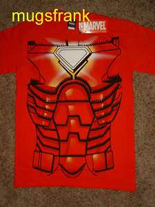Nwt Iron Man Heart Core Marvel Costume T Shirt