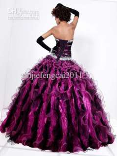 2012 Sweetheart Quinceanera dress prom ball gown pageant dress wedding