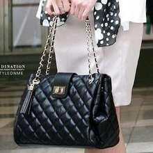 100% Real Genuine Leather Tote Shoulder Bag Fringe Hobo Handbag