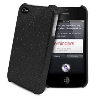 London Magic Store   Black Sparkle Glitter Case For iPhone 4S 4 S 4G