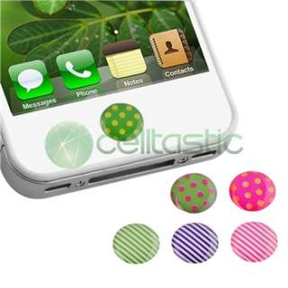 For Apple iPod Touch 8GB Pull Leather Case Pouch+Dots Home Button