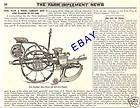 1890 FARMERS FRIEND CORN PLANTER CHECK ROW AD DAYTON OH items in ADS