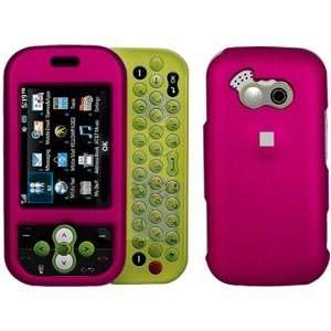 New Amzer Rubberized Hot Pink Snap Crystal Hard Case For