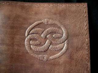 AURYN A5 Leather Journal Diary Sketchbook   handmade