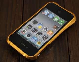DEFF CLEAVE GIALLO ORO per apple iphone 4 4G 4s bumper custodia cover