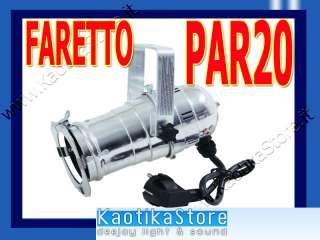 FARO PAR 30 per lampada 75w anche basso consumo ARREDO NEGOZIO VETRINE