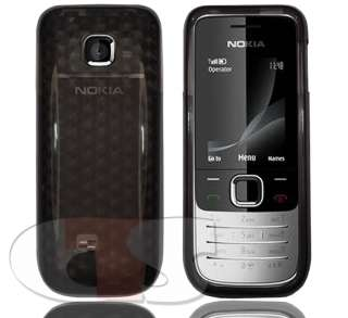 Smoky Black Silicone Gel Case Cover Nokia 2730 Classic