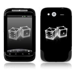 Crystal Dice Decorative Skin Cover Decal Sticker for HTC