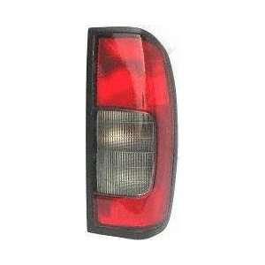 02 04 NISSAN FRONTIER truck TAIL LIGHT RH (PASSENGER SIDE