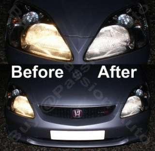 NISSAN MICRA ICE BLUE LIGHT BULB KIT HID/XENON BULBS