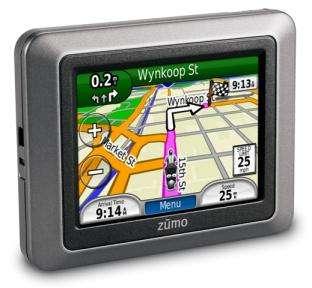 NAVIGATORE GARMIN ZUMO 220 GPS MOTO LCD BLUETOOTH NEW