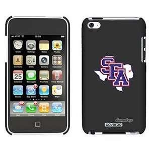 : SFA Logo Texas on iPod Touch 4 Gumdrop Air Shell Case: Electronics