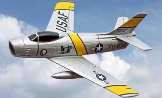 86 SABRE MICRO JET 4 CHANNEL 2.4GHZ RADIO CONTROL READY TO FLY