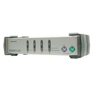 IOGEAR GCS84A 4 Port MiniView SE PS/2 KVM Switch Kit (PS/2