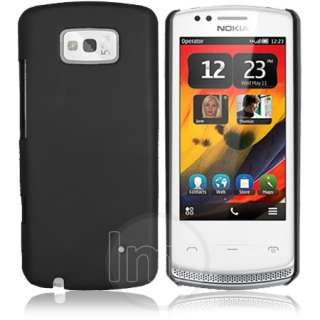 London Magic Store   Black Hybrid Hard Case Cover For Nokia N700