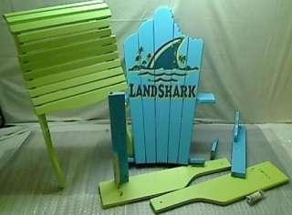 Margaritaville Model SA 623072F Deluxe Land Shark Adirondack Chair
