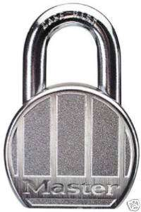Master Lock 2 1/2 Zinc Die Cast High Security Padlock