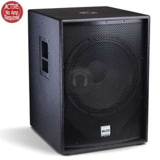Alto 18 Inch 1200 Watt Active Subwoofer Bass Bin Speaker