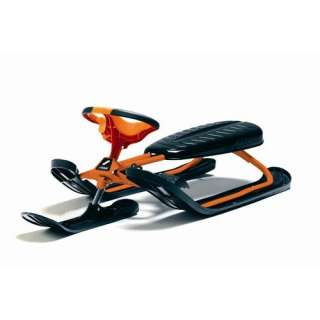 Stiga Curve Force Snow Sled in Orange: Outdoor Sports