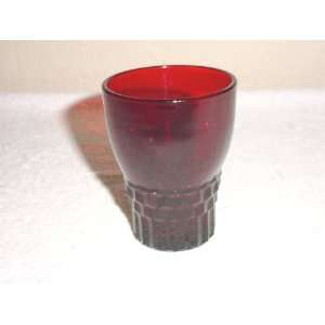 com Anchor Hocking Royal Ruby Windsor Juice Tumbler Everything Else