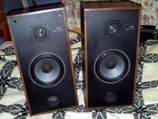 Vintage Speakers x 2 (1979)   Sony SS E30 50W