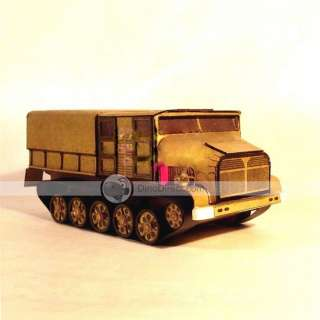 Wholesale D350 Tracked Armored Vehicles & Towed Artillery 3D Paper