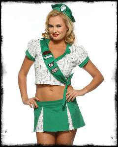 LIP SERVICE TROOP 666 GIRL SCOUT FANCY DRESS COSTUME SZ