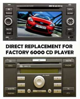 Din DVD GPS Player RDS FORD FOCUS 04 07/TRANSIT RSMMI