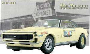 Bill Thomas 1968 Nicky Chevrolet Camaro SS/RS 427