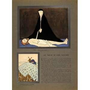 1934 Jean Goulden Enamel Art Trout Pieta Moulin Article