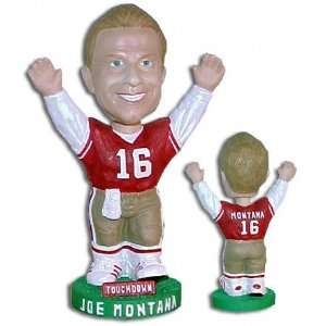 Joe Montana San Francisco 49ers Bobblehead  Sports