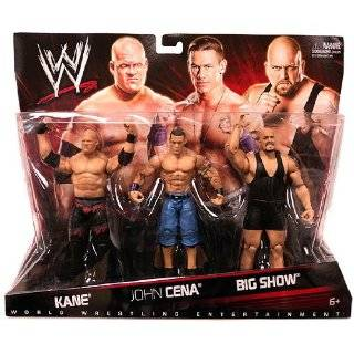 Wrestling Exclusive Action Figure 3Pack Randy Orton, John Cena The Miz