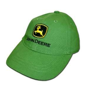 John Deere Toddler Baseball Cap Green 4T 5T: Clothing