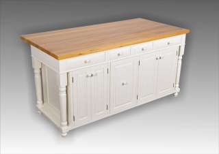 ft Cream Kitchen Island Butcher Block Top Custom welcome. Trash/Roll