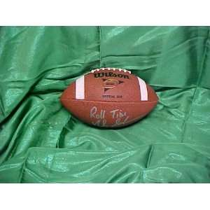 Nick Saban Hand Signed Autographed Alabama Crimson Tide