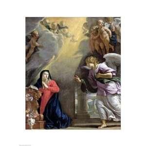 Philippe De Champaigne The Annunciation 18.00 x 24.00