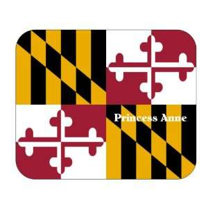 US State Flag   Princess Anne, Maryland (MD) Mouse Pad