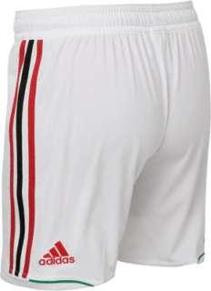 AC Milan White adidas Soccer Replica Shorts