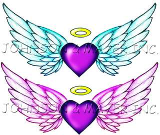 Make a statement with our Angel Wings Tattoos. These two temporary
