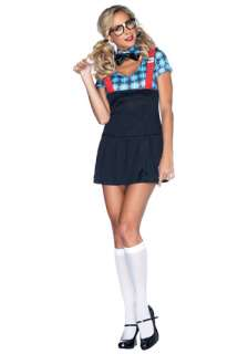 Naughty Nerd Costume   Sexy Geek School Girl Uniform Costumes