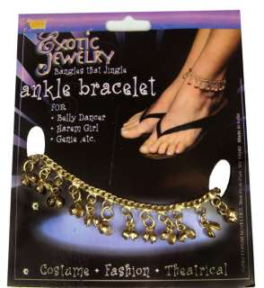 or Gypsy Ankle Bracelet   Belly Dancer or Gypsy Costume Accessories