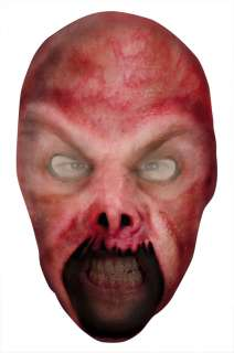 Ghoul or Fire Demon Nylon Full Mask   Scary Halloween Masks
