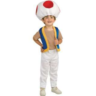 Super Mario Bros.Toad Child Costume, 65006