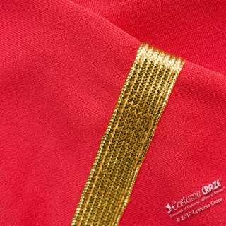 Deluxe Adult Star Trek Red Dress Costume   Star Trek Costumes