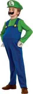 Toddler Deluxe Luigi Costume   Nintendo Super Mario Brothers Costumes