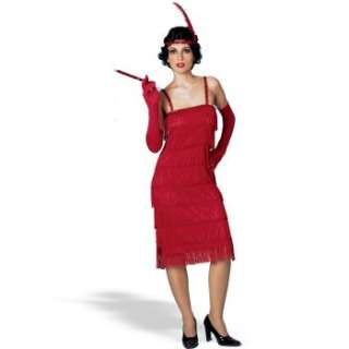 Miss Millies Fringe Flapper Dress Red Adult Costume Ratings & Reviews