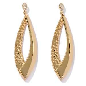Paula Abdul FYG Her Crystal Silhouette Earrings