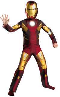 Iron Man Costume for Kids  The Avengers Official Iron Man Mark VII 7